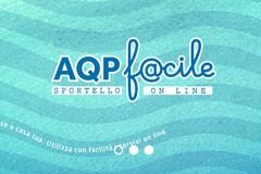 """Online """"AQP f@cile"""", il nuovo sportello commerciale di Acquedotto Pugliese"""