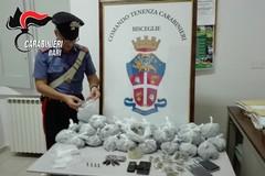 17enne bloccato dai Carabinieri per possesso di droga