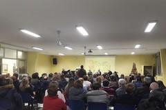 L'auditorium della scuola media Monterisi in memoria delle insegnanti Lecci e Minerva