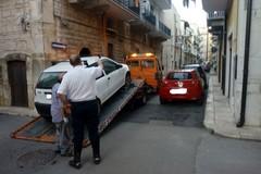 Auto rubata a Bisceglie ritrovata a Terlizzi