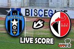 Bisceglie-Bari, il live score