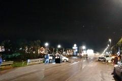 Scontro fra due auto nei pressi dell'uscita Bisceglie centro della 16 bis