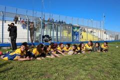 Un'altra bella giornata al campo Don Uva con la Coppa Italia femminile di rugby
