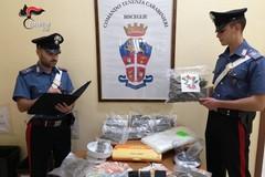 Sorpresi con oltre un kg di marijuana, due giovani biscegliesi ai domiciliari