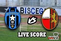 Bisceglie-Lucchese 3-3 (1-0 dopo i supplementari). Il live score