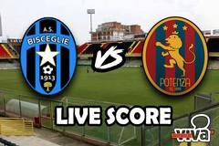Bisceglie-Potenza 1-1, il live score