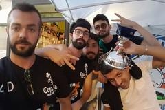 Il team Bunker alle finali di Coppa Italia di freccette