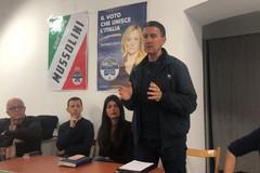 Caio Mussolini a Bisceglie: «Elezioni spartiacque fra sovranisti e globalisti»