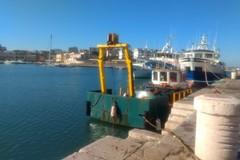 Dragaggio del porto, in corso i campionamenti