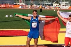 Carmelo Musci argento nel lancio del peso all'Eyof di Gyor