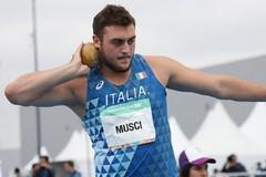 Carmelo Musci dà l'assalto ai titoli italiani Juniores di peso e disco
