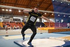 Implacabile Carmelo Musci, suo il titolo indoor nel peso Under 23