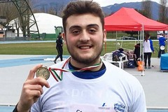 Carmelo Musci campione italiano invernale di lancio del disco