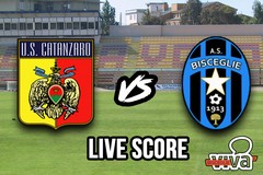 Catanzaro-Bisceglie 2-1, il live score
