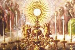 Domenica 3 giugno la solennità del Corpus Domini