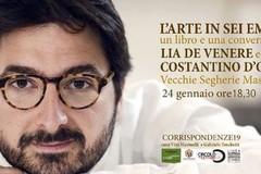 """Costantino D'Orazio presenta il libro """"L'arte in sei emozioni"""""""