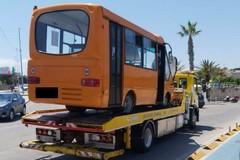 Bus navetta in avaria sei giorni dopo la partenza del servizio