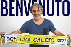 Domenico Capurso sulla panchina del Don Uva