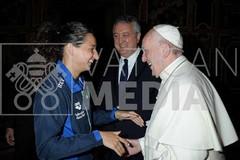 Elena Di Liddo da Papa Francesco al Trofeo Settecolli