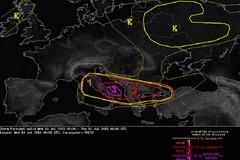 Estofex e Protezione Civile lanciano l'allerta meteo sulla Puglia