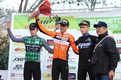 Ettore Loconsolo terzo nella gara internazionale di ciclocross a Vittorio Veneto