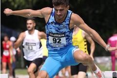 Eusebio Haliti sfiora la vittoria nei 400 ostacoli