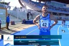 Un brillante Eusebio Haliti in finale nei 400 ostacoli agli assoluti di Pescara