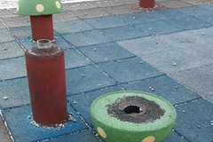 Zona 167: un parco a misura di vandali