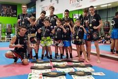 Raffica di podi per la Fit Combat ai campionati assoluti Wkf di Andria