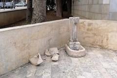 Angarano deplora l'azione vandalica in piazza Vittorio Emanuele II