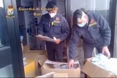Commercio illecito di mascherine e dispositivi di protezione, sequestri delle Fiamme Gialle