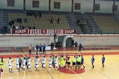 Fùtbol Cinco sconfitto in rimonta al PalaDisfida dal Futsal Barletta