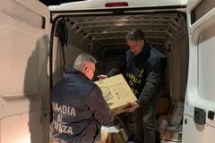 Le Fiamme Gialle intercettano furgone con 50 mila euro di refurtiva sulla provinciale Bisceglie-Andria