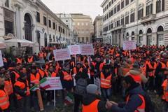 Gilet arancioni a Roma, biscegliesi in prima linea