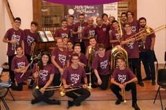 Esibizione del brass ensemble Il Cenacolo domenica in piazza San Francesco