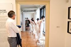 Il sindaco Angarano alla mostra su Pino Pascali a Venezia