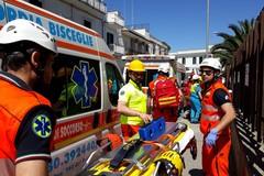 Misericordia Bisceglie parte attiva di un'esercitazione di Protezione Civile a Bitonto