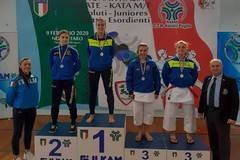 Le Fiamme Cremisi conquistano quattro pass per i campionati italiani di kata