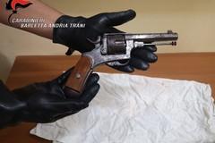 Possesso illegale di arma da fuoco, biscegliese ai domiciliari