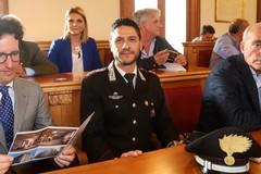 Vincenzo Caputo lascia il comando della Tenenza dei Carabinieri