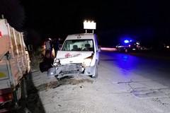 """Incidente sulla Bisceglie-Andria, danni al furgone di """"Recuperiamoci"""""""