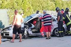 Scontro tra due mezzi sulla Bisceglie-Corato, quattro feriti