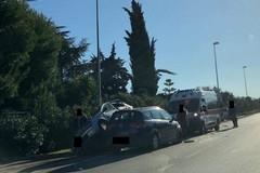 Incidente sulla Bisceglie-Corato, tre persone coinvolte