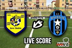 Juve Stabia-Bisceglie 1-0, il live score
