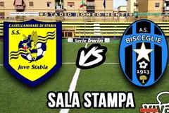 Sala Stampa Juve Stabia-Bisceglie: Fabio Caserta
