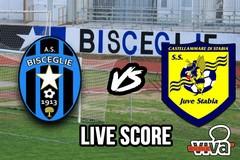 Bisceglie-Juve Stabia 0-1, il live score