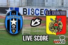 Bisceglie-Catanzaro 1-3, il live score