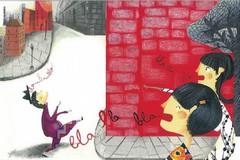 Parole che girano l'angolo, il nuovo albo illustrato dell'artista biscegliese Mariella Di Leo
