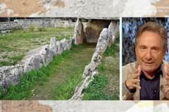 Mario Tozzi in tv sul Dolmen della Chianca: «Il mio monumento preferito della Puglia»