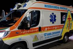 Scontro auto-moto in via Fragata, centauro in ospedale